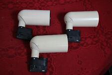 3 x Erco Strahler für System 79050/51