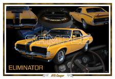1970 Mercury Cougar Eliminator Poster Print