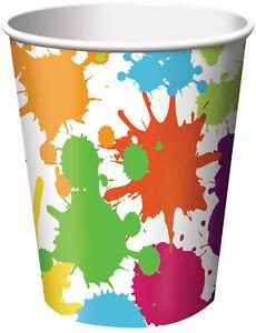 Art Party 9oz Paper Cups (8)