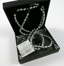 """Honora Freshwater Collection 17"""" Cultured Pearl Necklace with Pendant, NWT"""