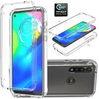 For Motorola Moto G Power 2020 TPU Shockproof Clear Rubber Slim Soft Case Cover