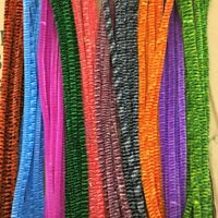 100x Mixed Colours Chenille Sticks Pipe Cleaners Assorted Colours Toy Craft M2I9