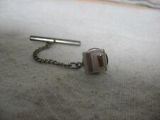 Vintage Tie Tack Pin: ART DECO DESIGNED SQUARE