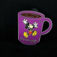 WDW - Cast Lanyard Collection 4 - Coffee Mugs - Mickey Mouse Disney Pin 41633