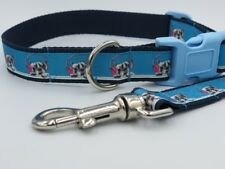 Jessiebee's *clearance* french bulldog collar lead set handmade bespoke dog