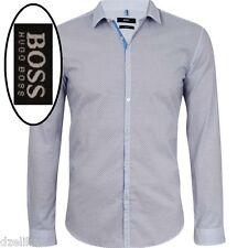 NWT Hugo Boss Black Label By Hugo Boss Slim Fit Diamond Pattern Shirt Size XXL