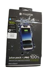 Mophie juice pack H2 Pro navy Blue/white Iphone 6/6s