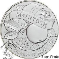 Canada 1996 $1 200th Anniversary John McIntosh BU Silver Dollar -Capsule Only