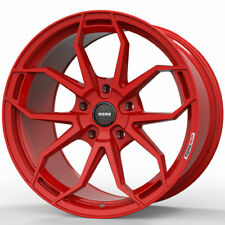 """19"""" MOMO RF-5C Red 19x8.5 Forged Concave Wheels Rims Fits Ford Focus"""