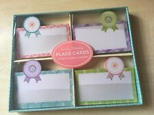 BNIB New Lovely Patterns Place Cards - 24 Die Cut Cards 4 Designs