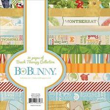 "New Bo Bunny Paper Pad 6"" x 6""  Beach Therapy"