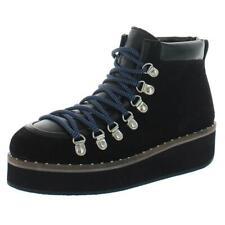 Free People Womens Durango Black Hiking Boots Shoes 37 Medium (B,M) BHFO 2463