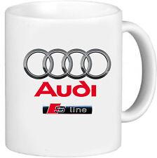 AUDI S LINE CAR ART MUG GIFT CUP