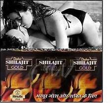 2 x Dabur Shilajit Oro 10 cápsula vigor vitalidad Aumenta Sexo resistencia.