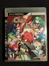 PS3 cross x edge