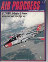 Air Progress Magazine August/September 1965 RCAF CT-114 Tutor Airplane fighter
