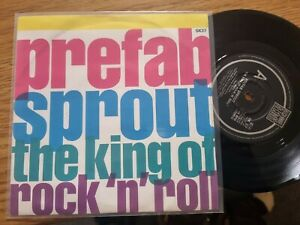 """Prefab Sprout – The King Of Rock N Roll 1st Press Original 7"""" Record"""