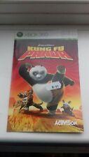xbox 360 instruction booklet manual kung fu panda