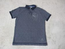 Ralph Lauren Denim & Supply Polo Shirt Adult Small Blue White Dragon Rugby Mens