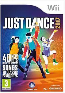 Just Dance 2017 (Nintendo Wii) (PAL UK) (Brand New, Sealed)