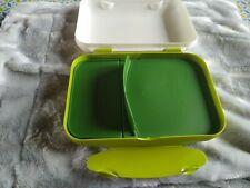 Tupperware  boîte dejeuner lunch box esprit bento pique nique compartiment