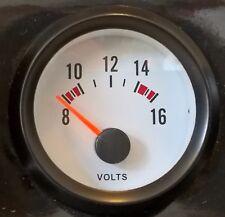 """MARINE/BATEAU 2"""" volts compteur jauge doit s'adapter à la plupart inboard moteurs. 12 V NEUF"""