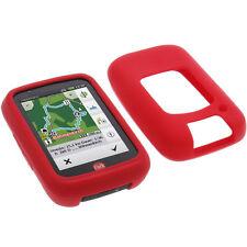 Bolsa Para Falk Tiger Geo Funda Protectora de Silicona Goma Funda GPS Rojo