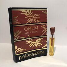 Yves Saint Laurent YSL Opium Edt sample 2ml Vintage