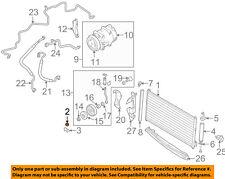 A/C AC Condenser/Compressor/Line-Condenser Assembly Insulator 921184M400