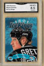 1993 DONRUSS WAYNE GRETZKY ICE KINGS CARD GMA GRADED 8.5 NM - MT +