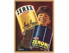 1940's Zerex Zerone Anti Freeze  Ad Refrigerator / Tool Box Magnet
