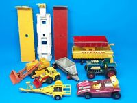 Lesney Job Lot Of Trucks, Trailers, Construction Vehicles Matchbox Super Kings