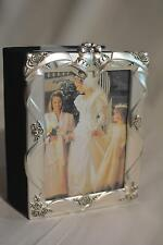 Vintage Godinger Silver Plated Satin Finish Wedding Album 4 X 6**New** Beautiful