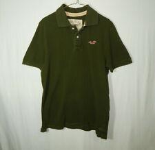 Hollister California Short Sleeve Polo Golf Shirt Size LARGE L Mens Clothing