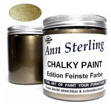 250ml GOLD Effektfarbe metallic Vintage DIY Farbe 28€/L Shabby Chic Kreidefarbe