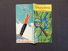 Reisefaltprospekt Schulenberg im Oberharz, Okertalsperre, von 1969