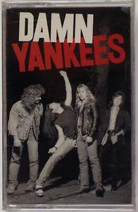 DAMN YANKEES: Self Titled SEALED WB Orig Hard Rock Cassette Tape Ted Nugent