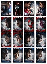 Captain America Civil War Marvel  Movie Postcard Set 16pcs