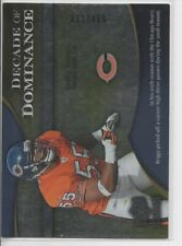 2009 UD ICONS LANCE BRIGGS DECADE OF DOMINANCE #rd 450