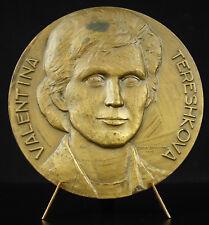Médaille Valentina Terechkova cosmonaute soviétique Maria BARREIRA medal