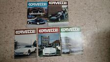 CORVETTE NEWS BACK ISSUE ASSORTMENT 1980 5 ISSUES EXCELLENT CONDITION