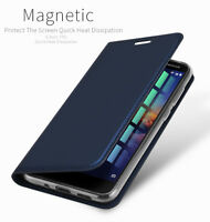 DD For o2 Nokia 3.1 PU Leather Flip Case Wallet Smart Magnetic Skin Stand Cover