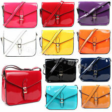 Zip Leather Outer Patternless Satchels Handbags