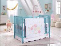 Koala Baby Springtime Slumber 4-Piece Baby Crib Bedding Set Pink Flower