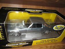 1969 Pontiac Grand Prix SJ 428 1/18 American Muscle Elite 33728 mint chase 69
