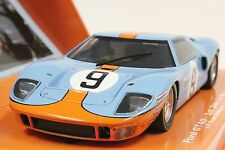 SLOT IT SICW16 FORD GT40 LE MANS 68' 1ST PLACE NEW 1/32 SLOT CAR LIMITED EDITION