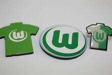 VfL Wolfsburg 3er Set-trikotpin, MAGNETE LOGO, MAGLIA magnetico lega federale