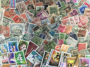 India Subcontinent Collection Of 400 Different Used & A Few Unused Stamps