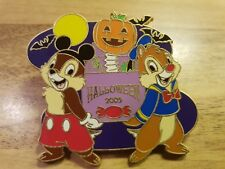 Disney Store Halloween 2005 Chip N Dale Pin Trading Pin Le 1600