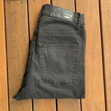Cheap Monday Size 30 Black Jeans Second Skin Very Stretch Casual Skinny